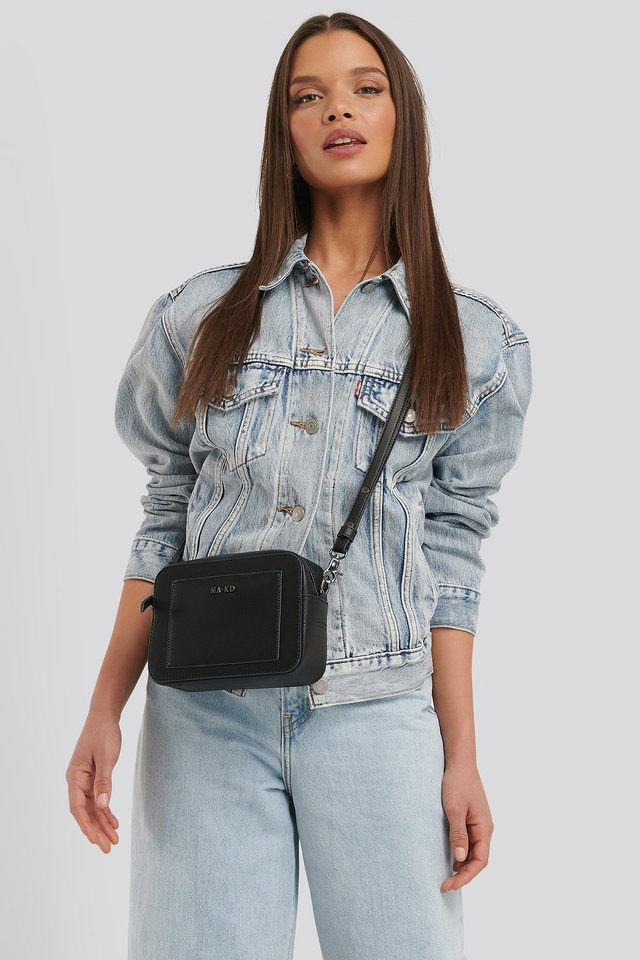 Minimalistic Shoulder Bag Black