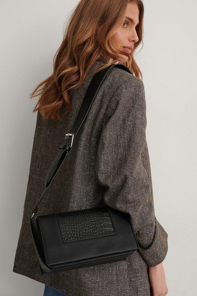 Black Crossbody-Tasche