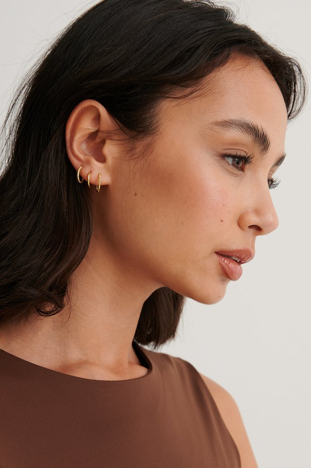 Gold Multipack Gold Plated Mini Hoops
