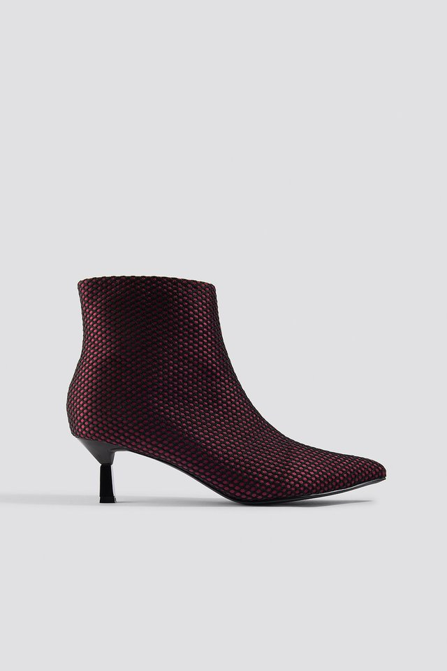 Net Kitten Heel Boots NA-KD Shoes