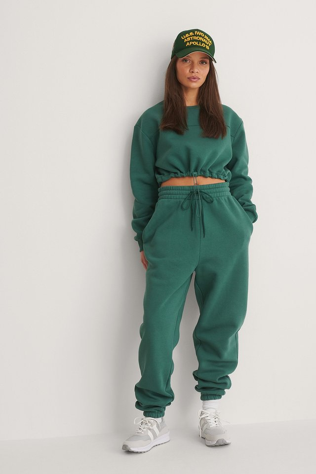 Green Ekologiska Mjuka Sweatpants