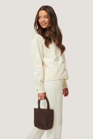 Brown Pearl Bag