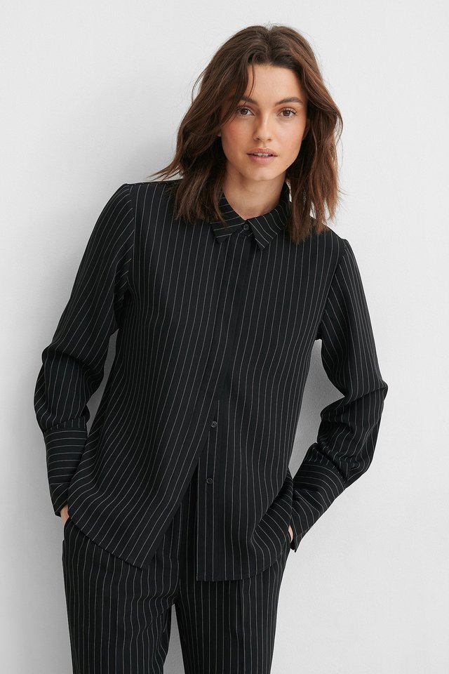 Pinstriped Shirt Pinstripe