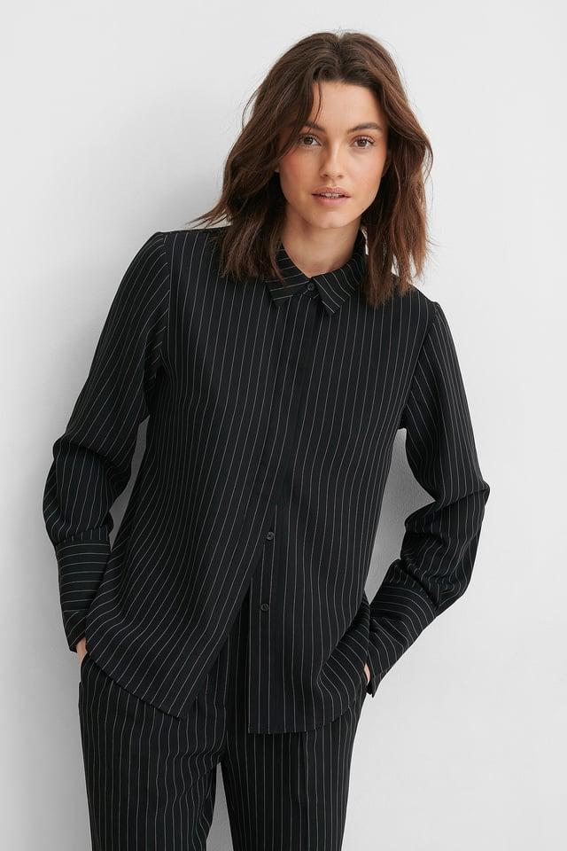 Pinstripe Pinstriped Shirt