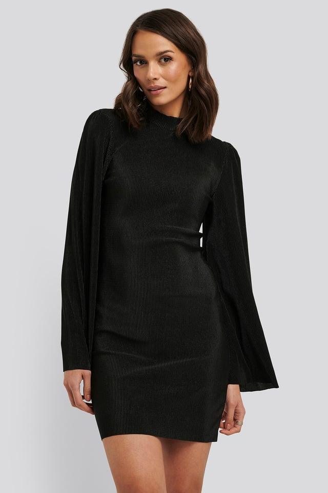 Sukienka Plisowana Black