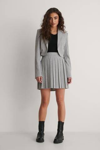 Grey Minikjol
