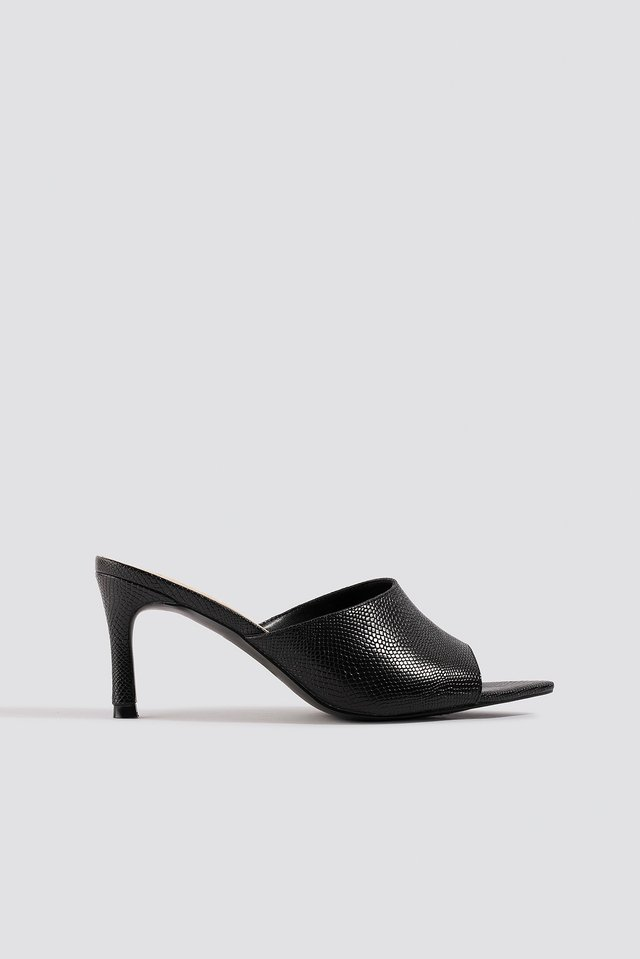 Pointy Sole Peeptoe Pumps NA-KD Shoes