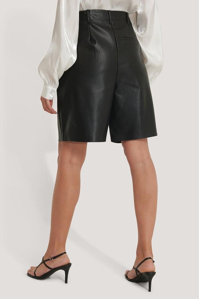 PU Bermuda Shorts NA-KD Trend