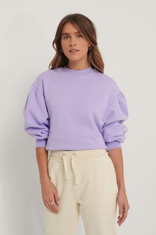 Lilac Økologisk Sweatshirt