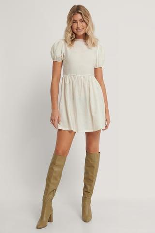 White Sukienka
