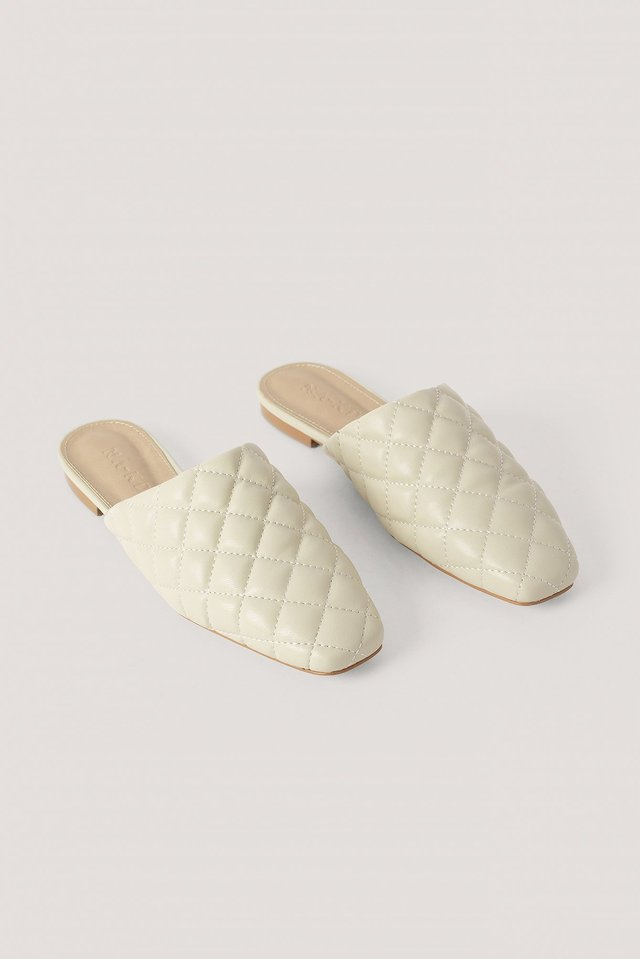 Quilted Loafers NA-KD Shoes