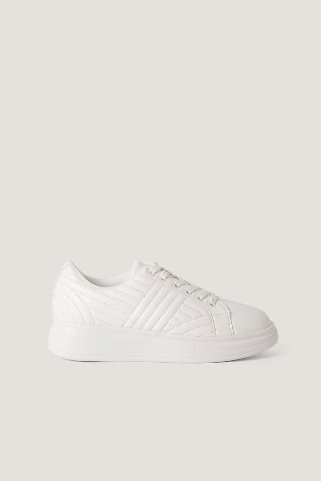 Klassische Sneakers Offwhite