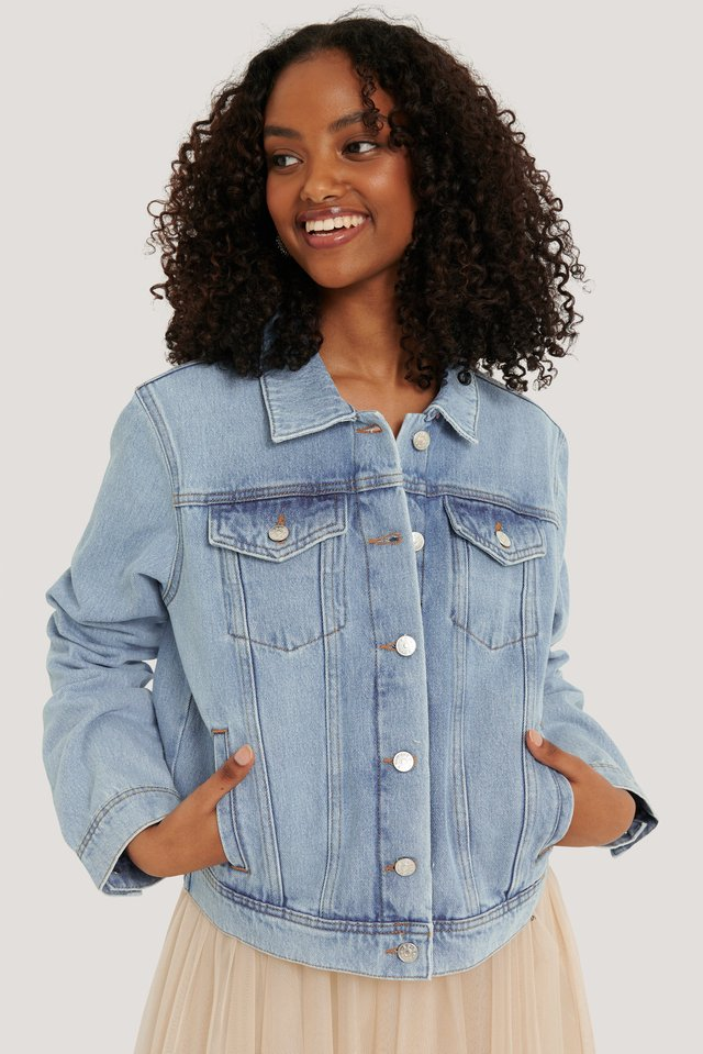Light Blue Denimjacka