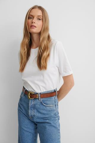 White Organisch T-shirt