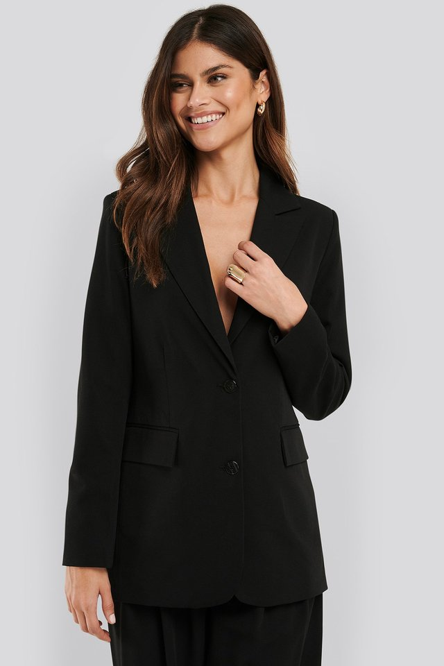 Regular Blazer Black