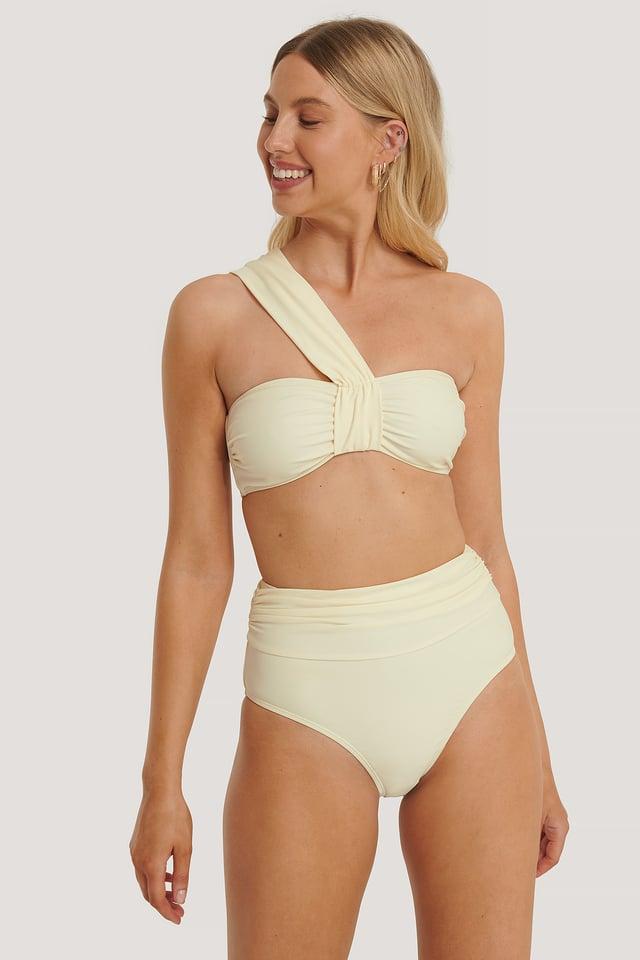 Offwhite Retro Maxi Highwaist Bikini Panty