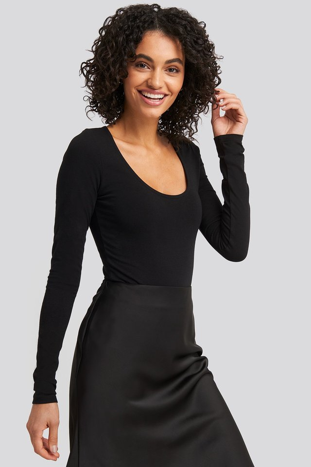 Black Round Neck Body