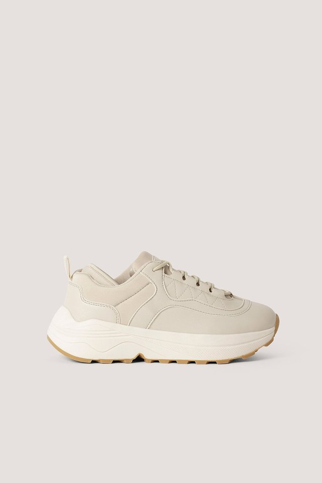 Rounded Chunky Trainers NA-KD Shoes