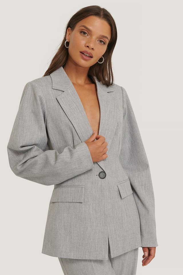 Blazer Light Grey