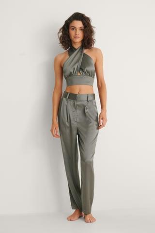 Grey Bukser