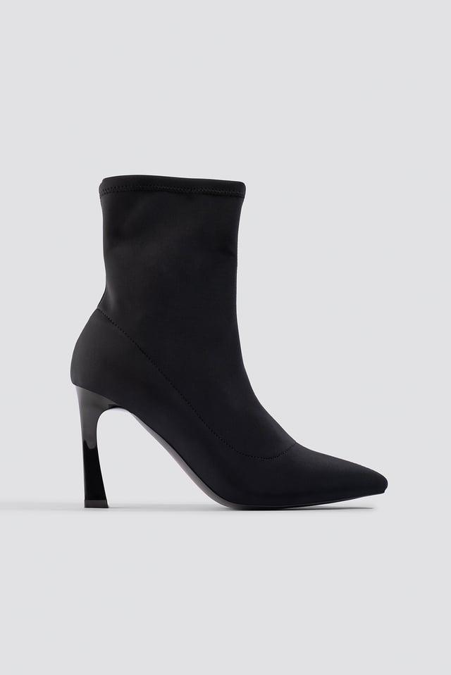Scuba Sock Boots Black