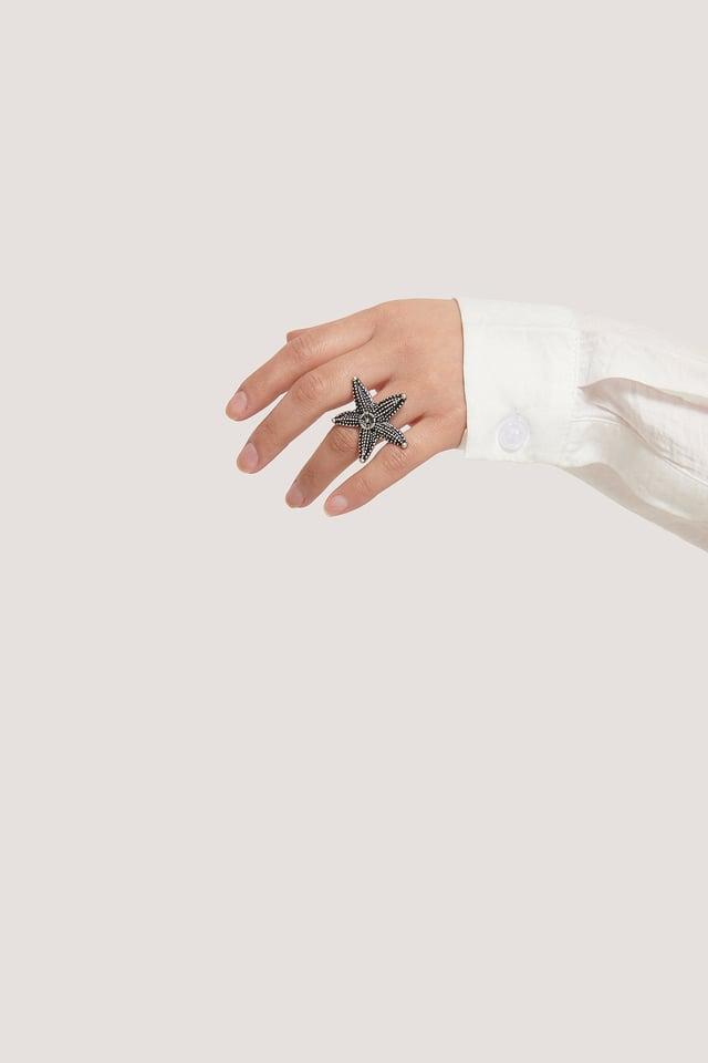 Silver Einzelner Ring