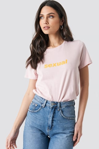 Pink Sexual Tee