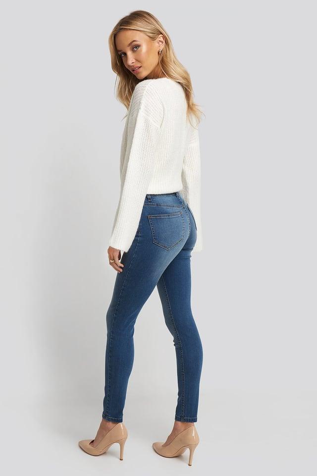 Skinny Low Waist Jeans NA-KD