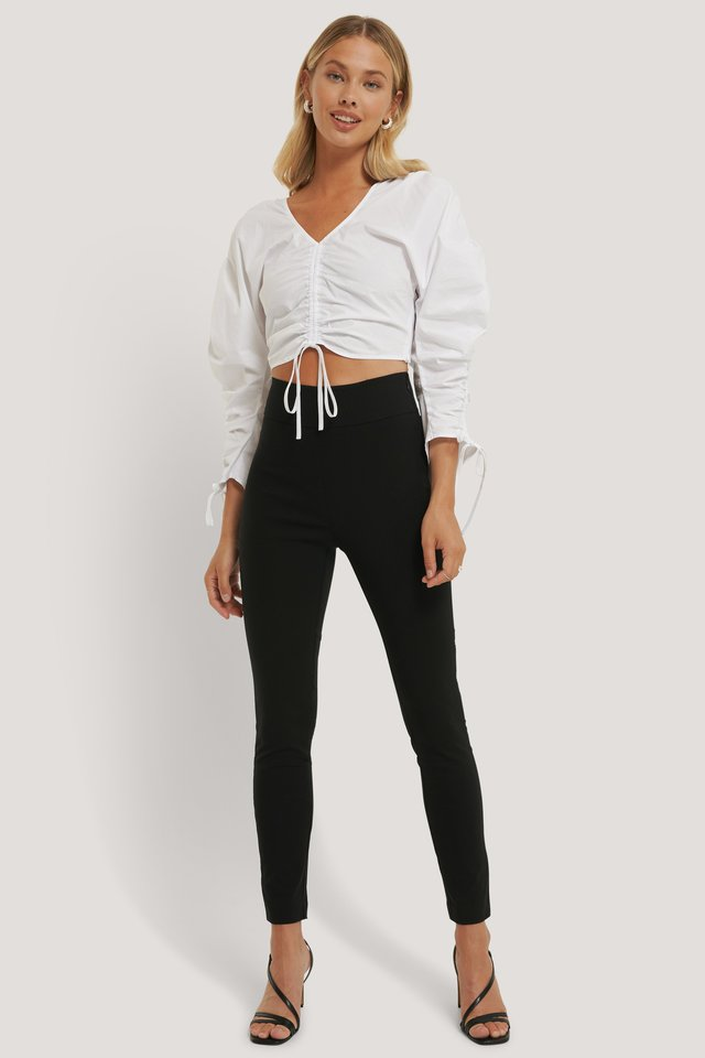 Slim-fit Super Stretch Pants Black