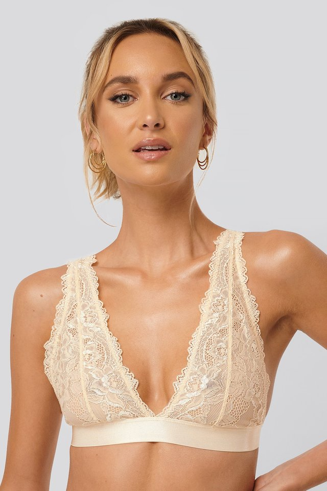Pearl Soft Lace Bra