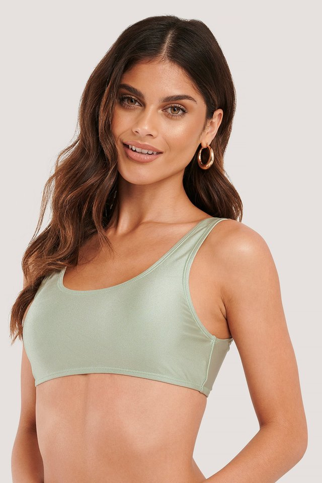 Dusty Green Bikinitop