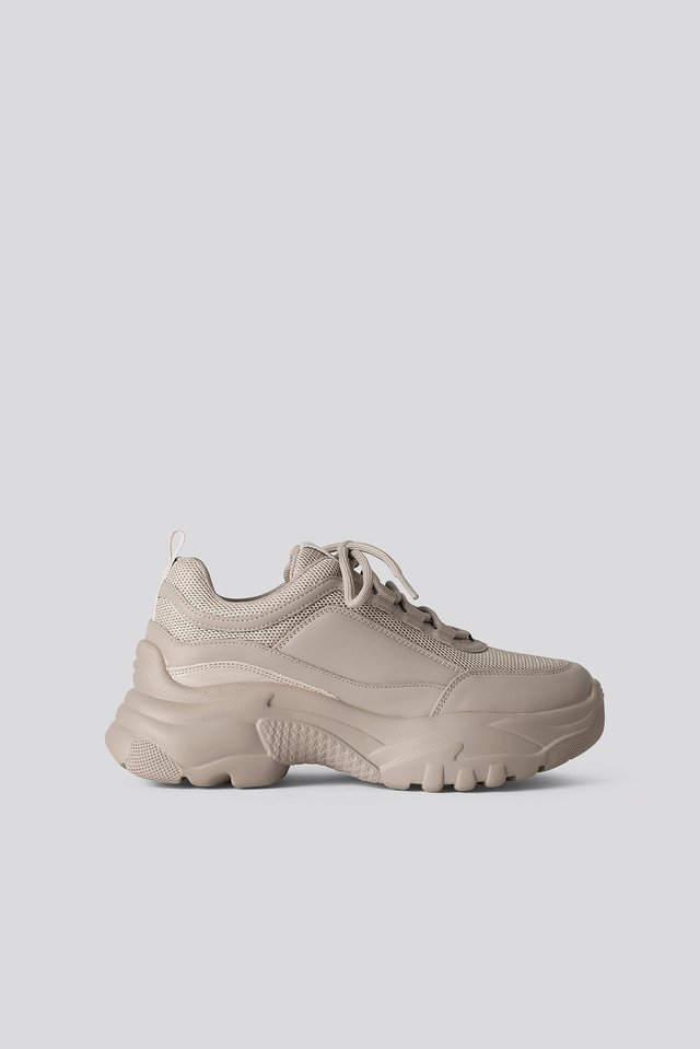 Chunky Sneakers Light Khaki