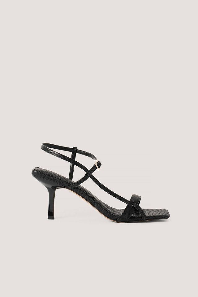 Strappy Buckled Heels NA-KD Shoes