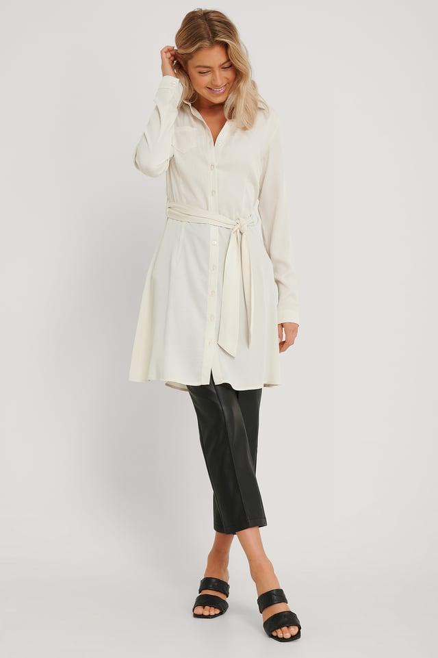 Skjortekjole Off White