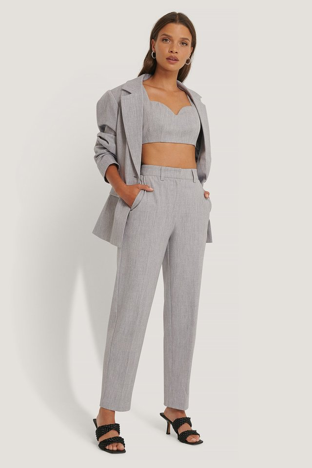 Light Grey Suit Pants
