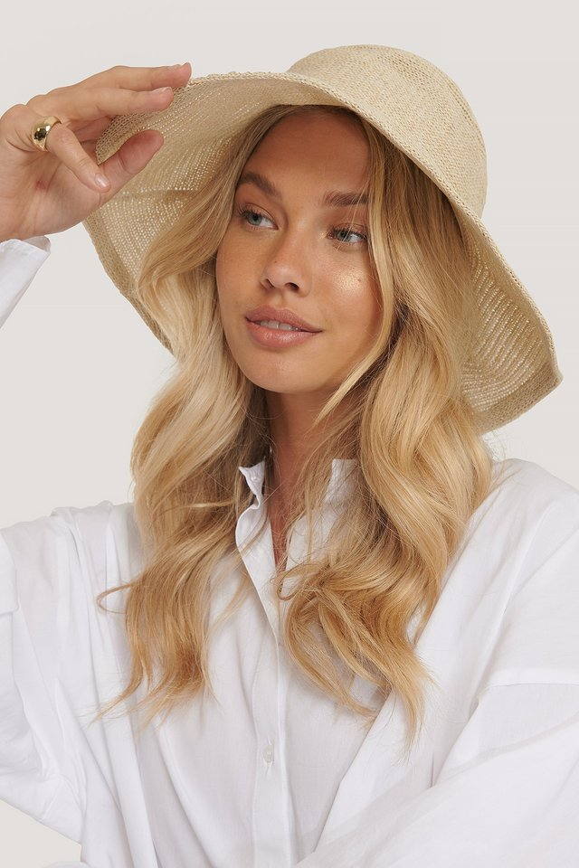 Summer Bucket Hat Natural