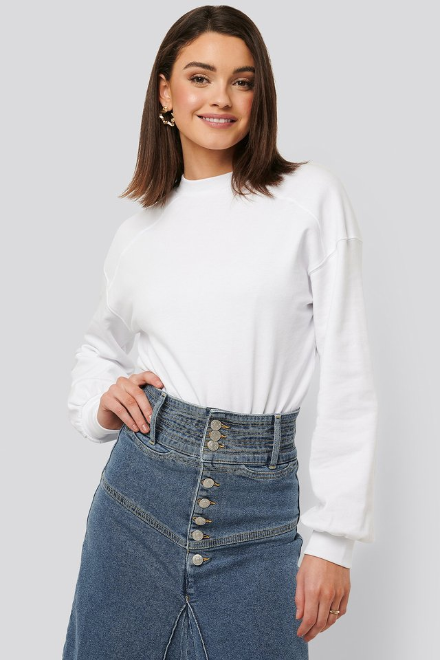Sweatshirt Body White