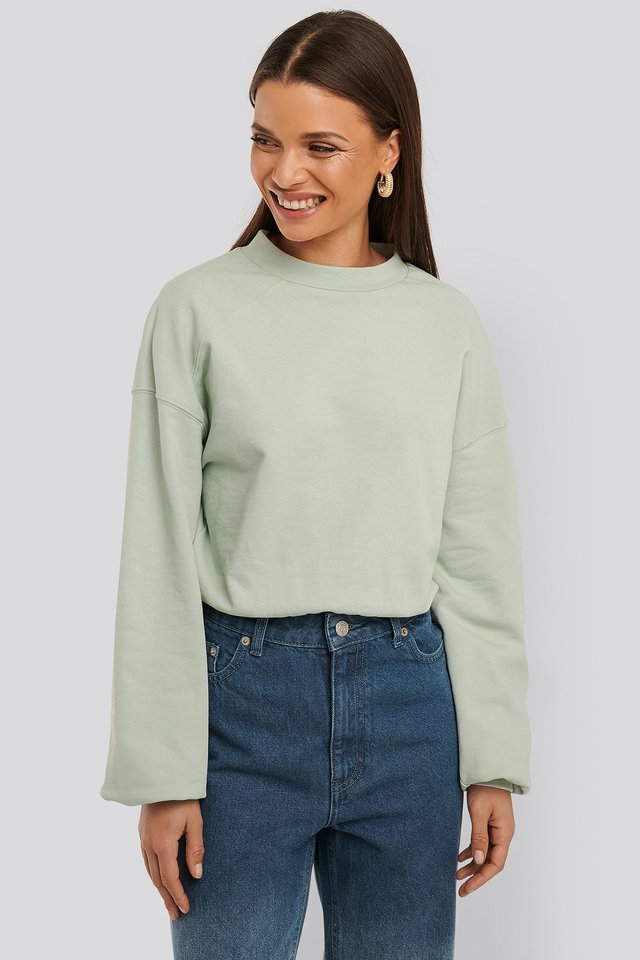 Sweatshirt Body Dusty Green