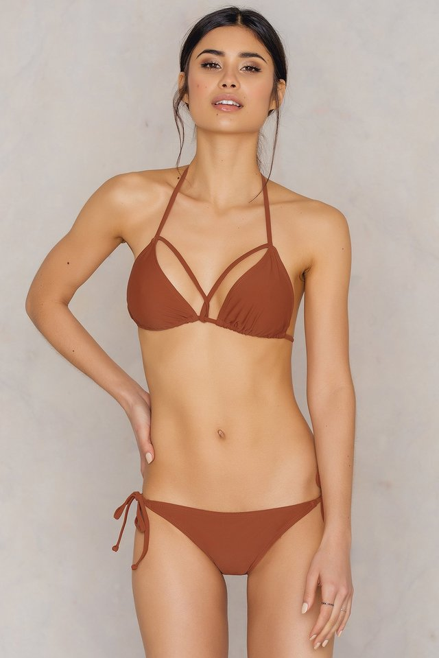 Dół bikini Triangle Brown