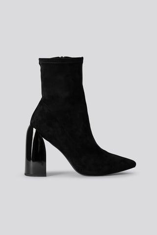 Black Sokkestøvle