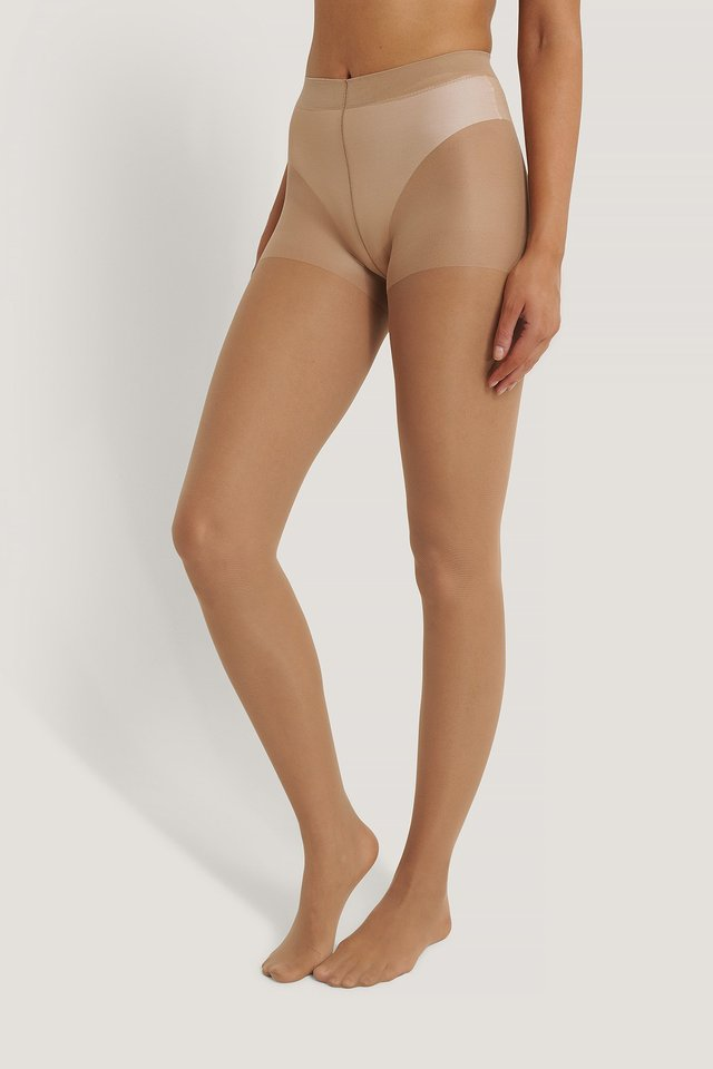 Recycled Tights 30 DEN 2-pack Nude