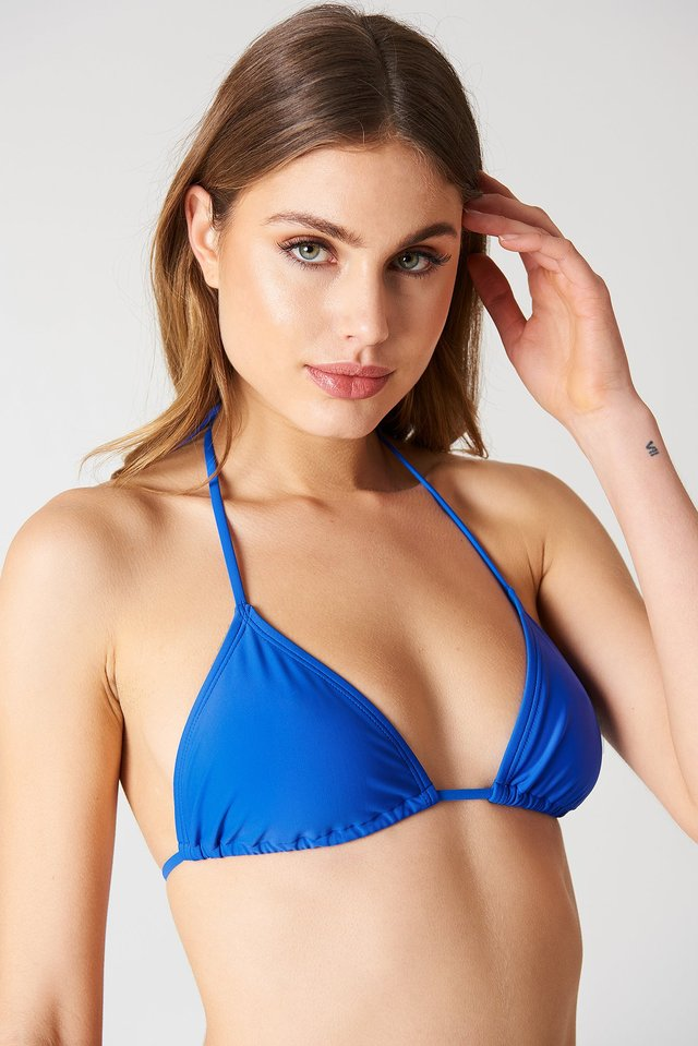 Triangle Bikini Top Cobalt