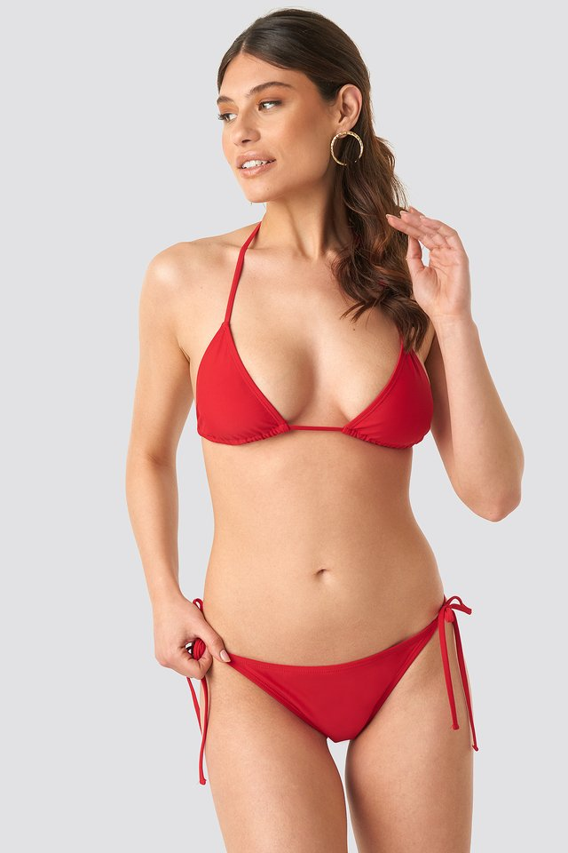 Triangle Panty Red