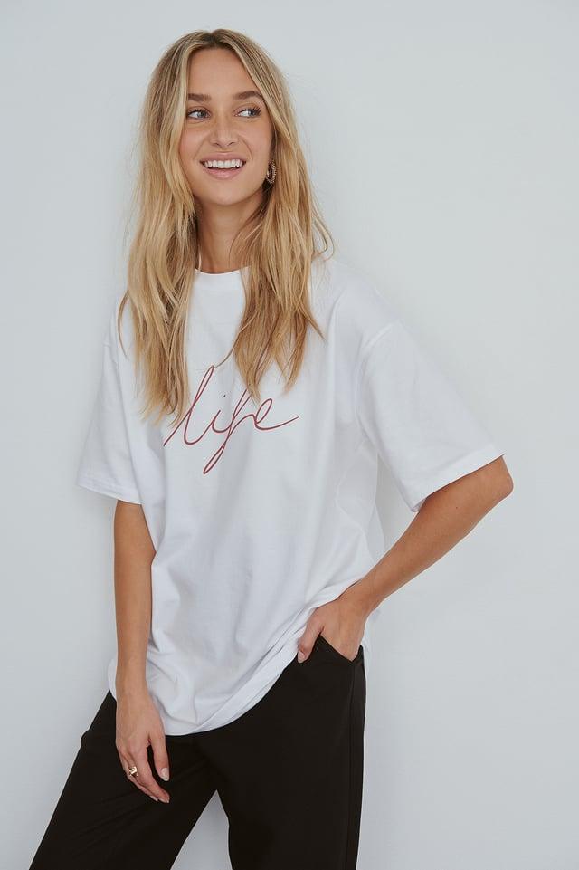 Organic T Shirt NA-KD Reborn
