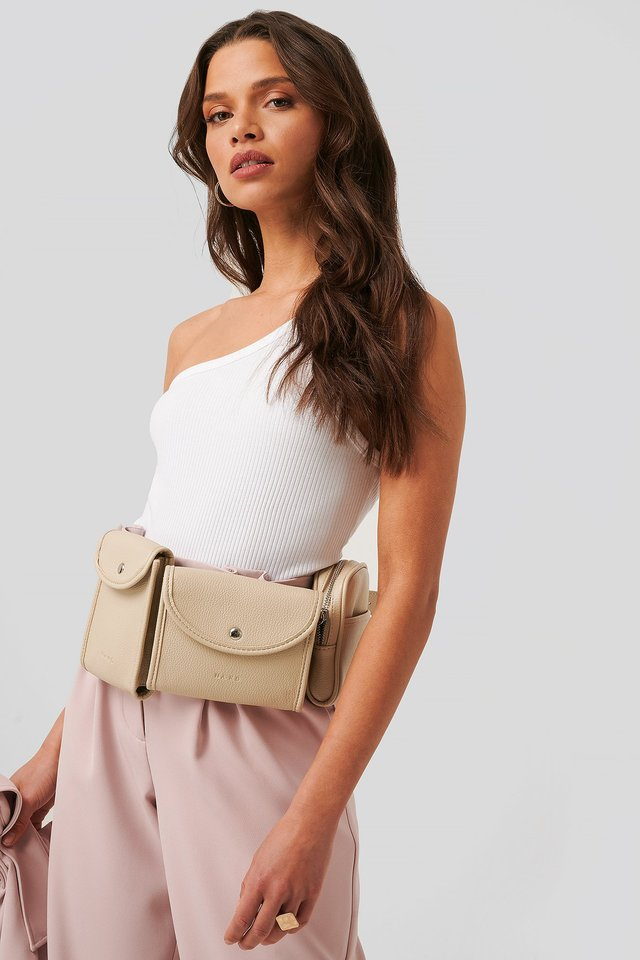 Utility Belt Bag Nude
