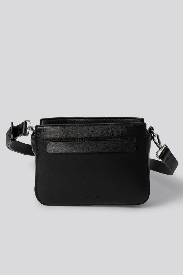 Utility Crossbody Bag Set Black