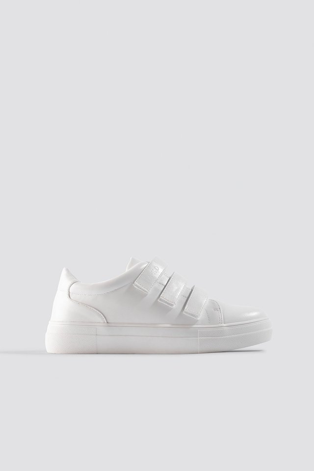 Velcro Sneakers White