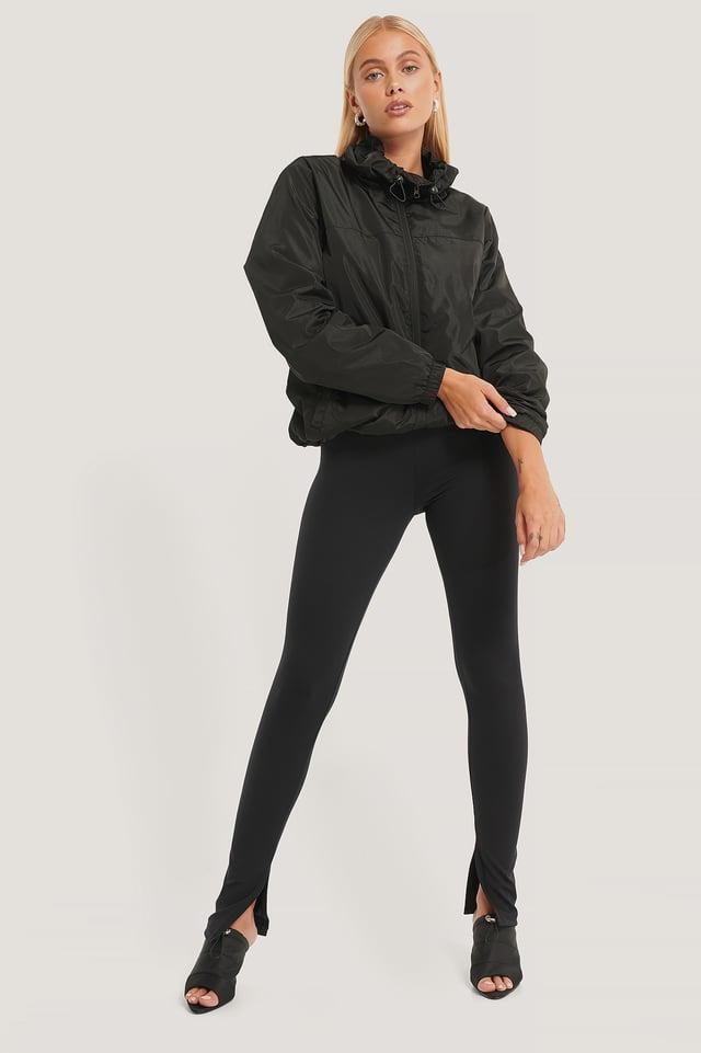 Vindjakke Black