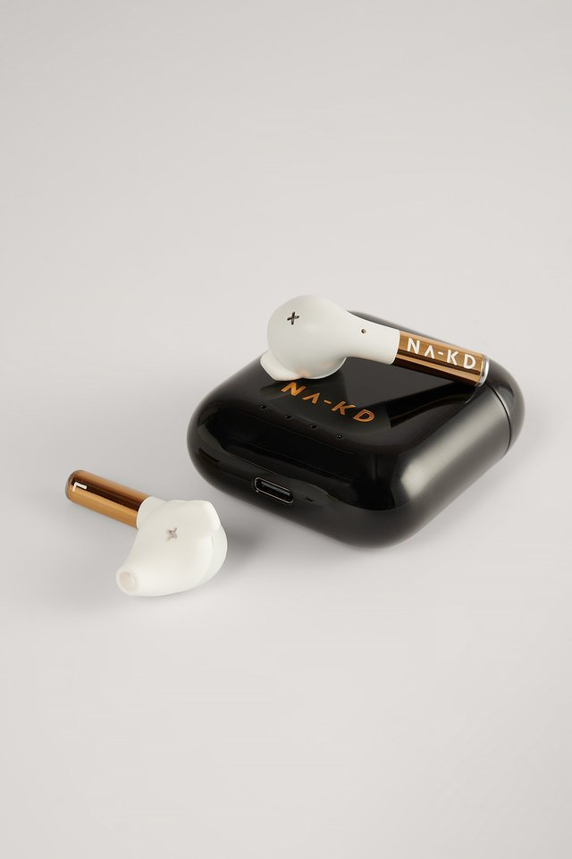 Classy Black NA-KD Wireless Headphones