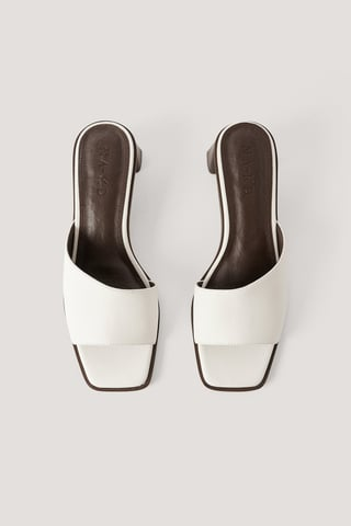 Offwhite Mules